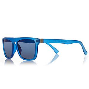 Boys blue wayfarer-style sunglasses