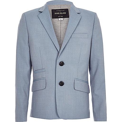 Boys light blue blazer