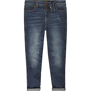 Boys dark wash Dylan slim jeans