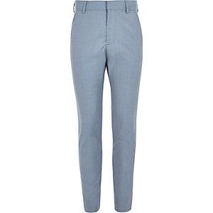 Pantalon de costume bleu pour garçon