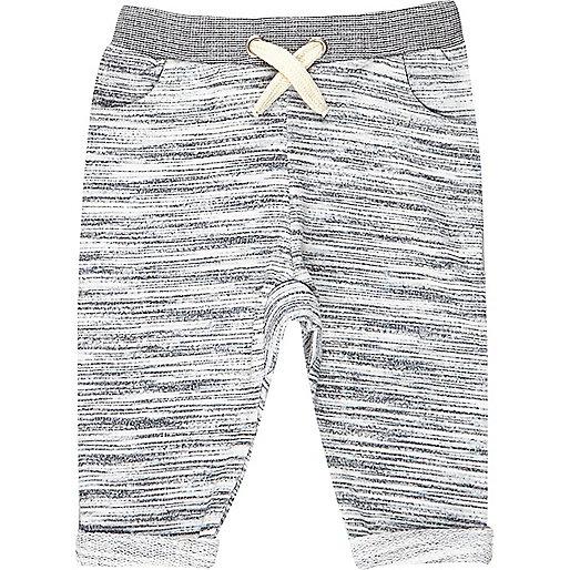 Mini boys grey joggers