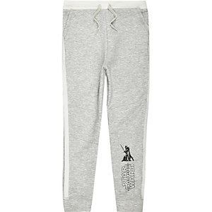 Boys grey Star Wars jersey joggers