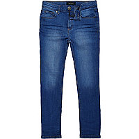 Boys bright blue Sid skinny jeans