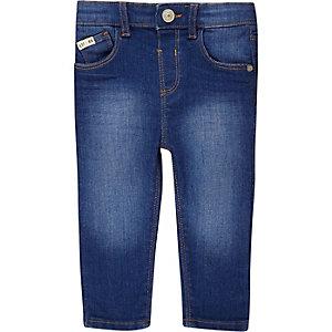 Mini boys bright blue Sid skinny jeans