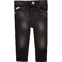 Mini boys dark wash skinny jeans