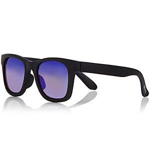 Boys black wayfarer-style sunglasses