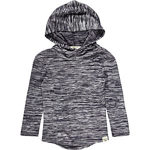 Mini boys hooded jumper