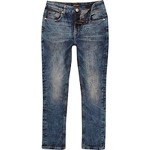 Sid – Skinny Stretch Jeans in Marmorwaschung