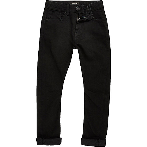 Chester – Schwarze Jeans in Loose Fit