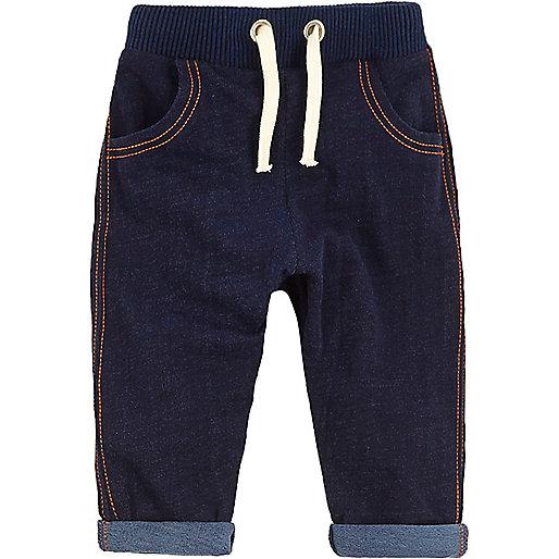 Pantalon de survêtement bleu pour petit garçon
