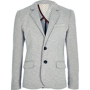 Boys grey fitted blazer