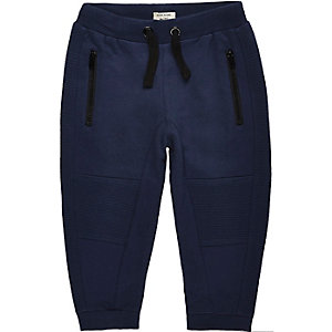 Mini boys navy joggers