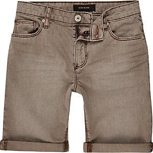 Boys sand denim shorts