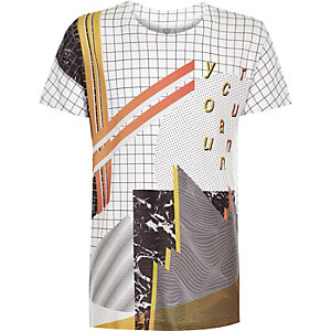 Boys graphic print t-shirt