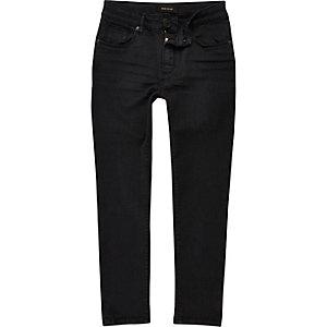Boys dark grey Sid skinny jeans