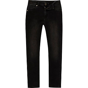 Boys washed black Sid skinny jeans