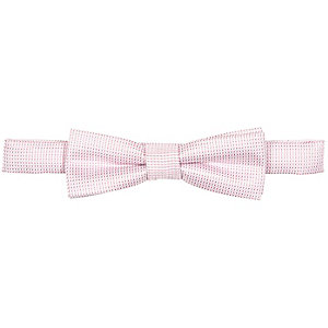 Boys light pink bow tie