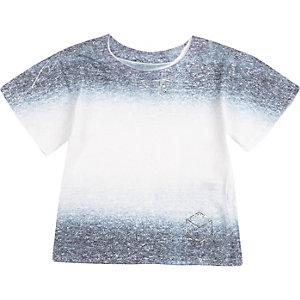 Mini boys faded t-shirt