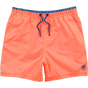 Boys coral swim trunks