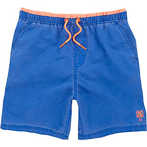 Boys blue swim trunks