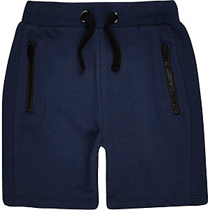 Mini boys navy shorts