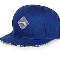 Mini boys blue Brooklyn snapback