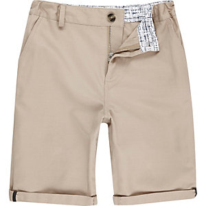 Boys beige shorts