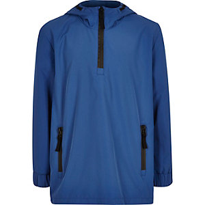 Boys blue shell jacket