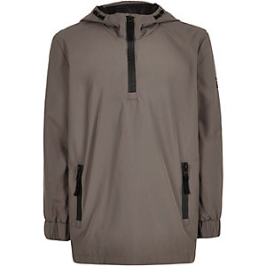 Boys grey shell jacket