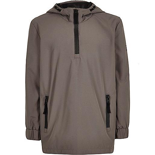 Boys grey shell jacket