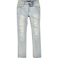 Boys light blue ripped jeans