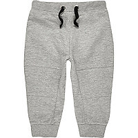 Pantalon de jogging gris clair mini garçon