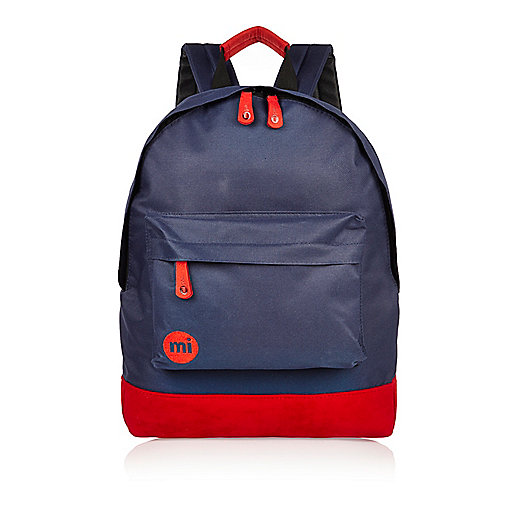 Boys navy Mi-Pac classic backpack