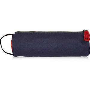 Boys navy Mi-Pac traditional pencil case