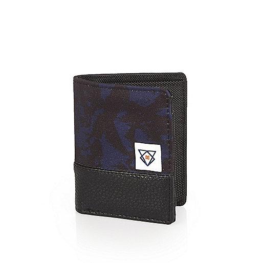 Boys navy camo wallet