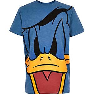 Boys blue Donald Duck print t-shirt
