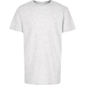 T-shirt gris texturé pour garçon