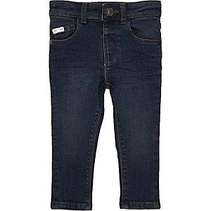 Mini boys indigo wash Sid skinny jeans