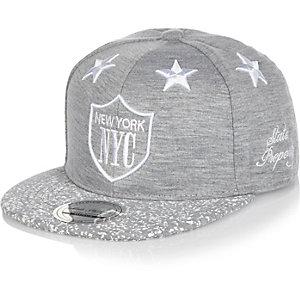 Boys grey NYC stars cap
