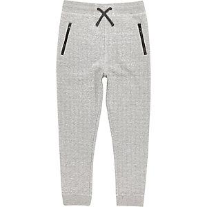 Boys light grey space jogger