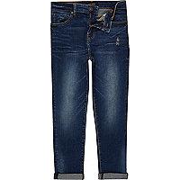 Dylan – Slim Jeans in dunkelblauer Waschung