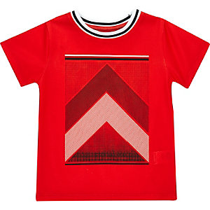 T-shirt imprimé rouge mini garçon