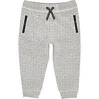 Mini boys grey space jogger