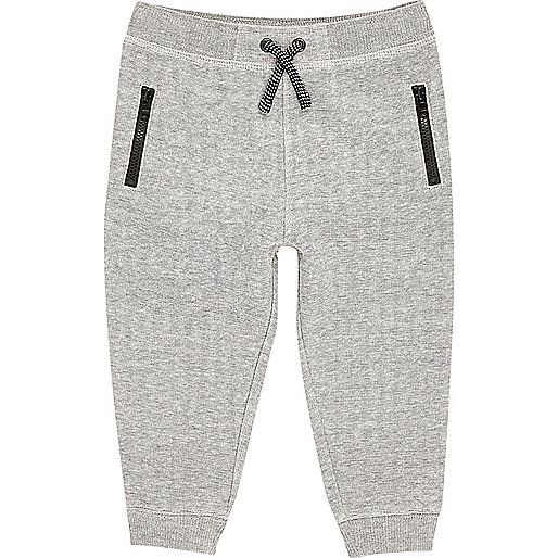 Pantalon de jogging motif espace gris mini garçon