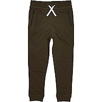 Pantalon de jogging en jersey kaki