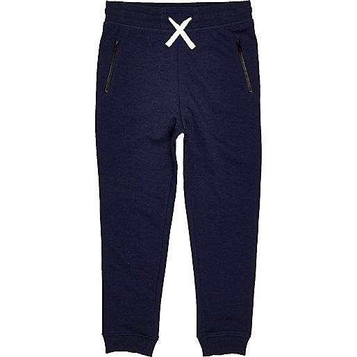 Pantalon de survêtement bleu marine pour garçon