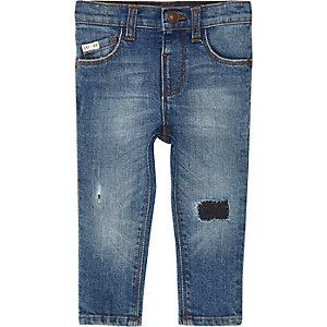 Sid – Blaue Skinny Jeans im Used-Look