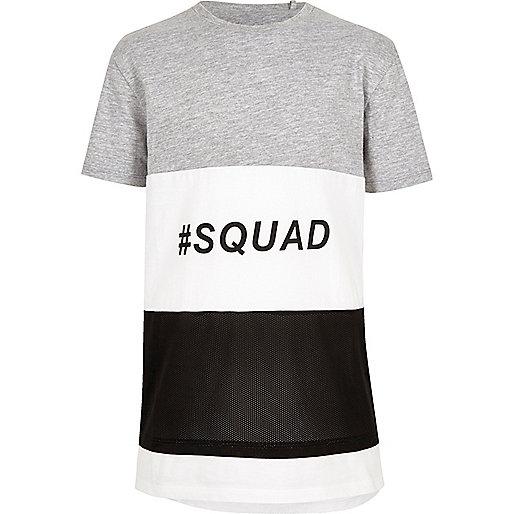 T-shirt colour block squad pour garçon
