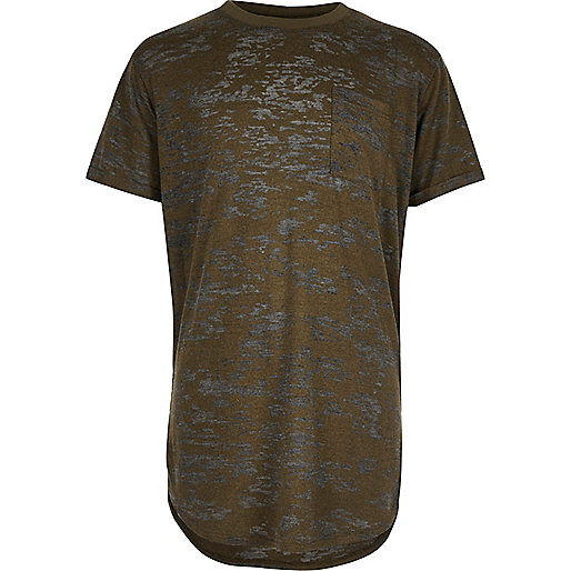 Curve – T-Shirt in Khaki