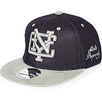 Boys blue denim NYC cap